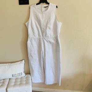 Ashley Stewart sleeveless jumpsuit